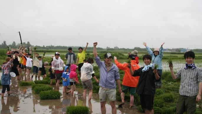 田植えin2018 札幌の隣、石狩で6月10日田植え開催!参加者募集