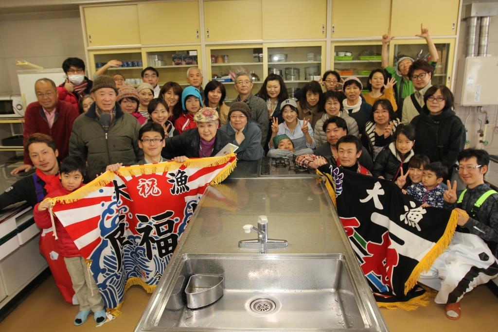 第20回 厚田の漁師さん直伝の魚料理教室!!ニシン、カスベ、タコ!